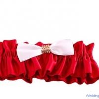 Подвязка.Цвет-красный, цена-400р.