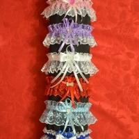 подвязка.цвет-синяя,розовая,голубая,фиолетовая.Цена-200р.